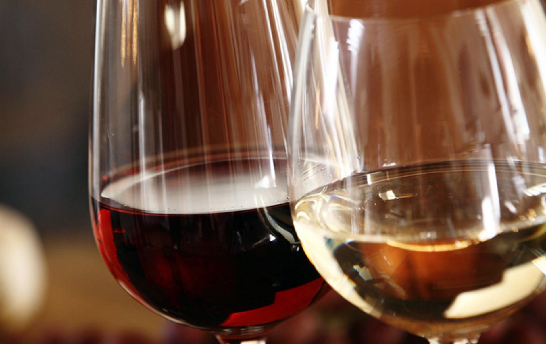 Wein, Sekt und Champagner