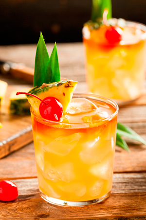 Homemade Mai Tai cocktail. Fotolia: Brent Hofacker.
